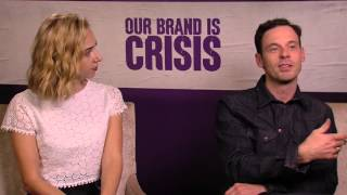 Our Brand is Crisis: Scoot McNairy & Zoe Kazan Official Movie Interview