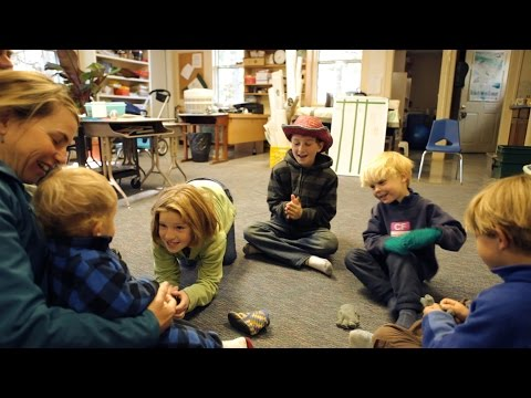 Island Postcards: One Morning at the Cliff Island School