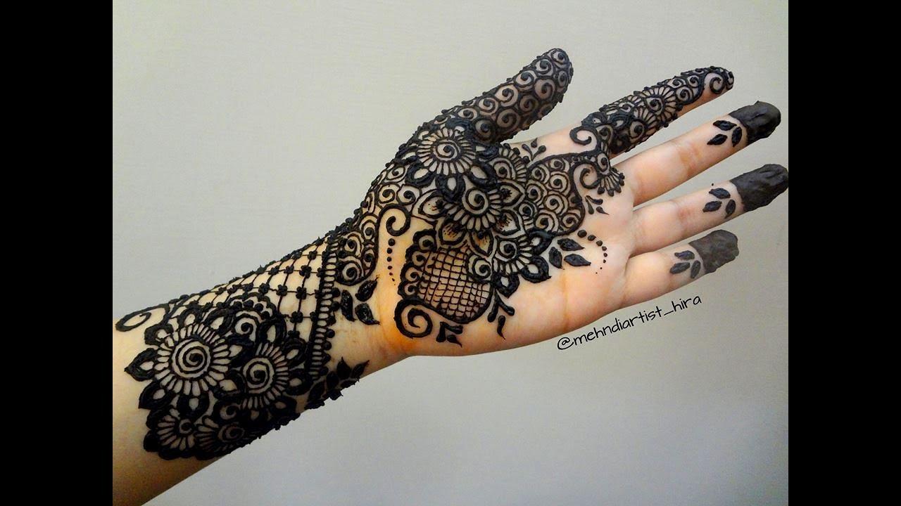 Khaleeji Henna Mehndi Design : Best and beautiful latest khaleeji gulf arabic henna