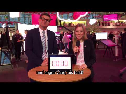 Social Media Post: CeBIT 2017 - 60 seconds mit… Stefan Bucher