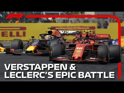 Verstappen And Leclerc's