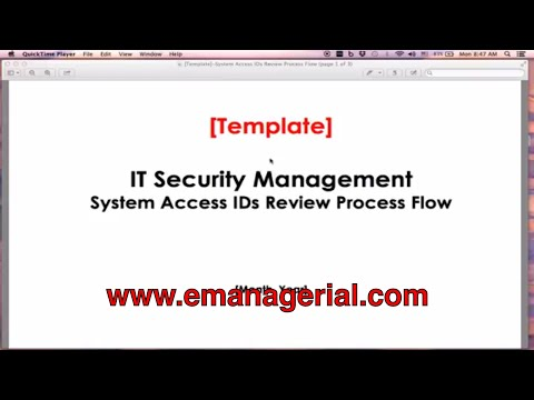 Tutorial 04 - (ITAM) Process Risk Mapping