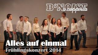 B'Noise - Alles auf einmal @ Frühligskonzert 2014 ( Selig - a capella cover)