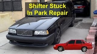 Shift Lock Solenoid Replacement, Have To Push Button To Release, Volvo 850, S70, V70, Etc. - VOTD