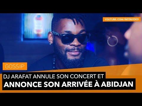 DJ Arafat annule son concert et annonce son arrivé à Abidjan