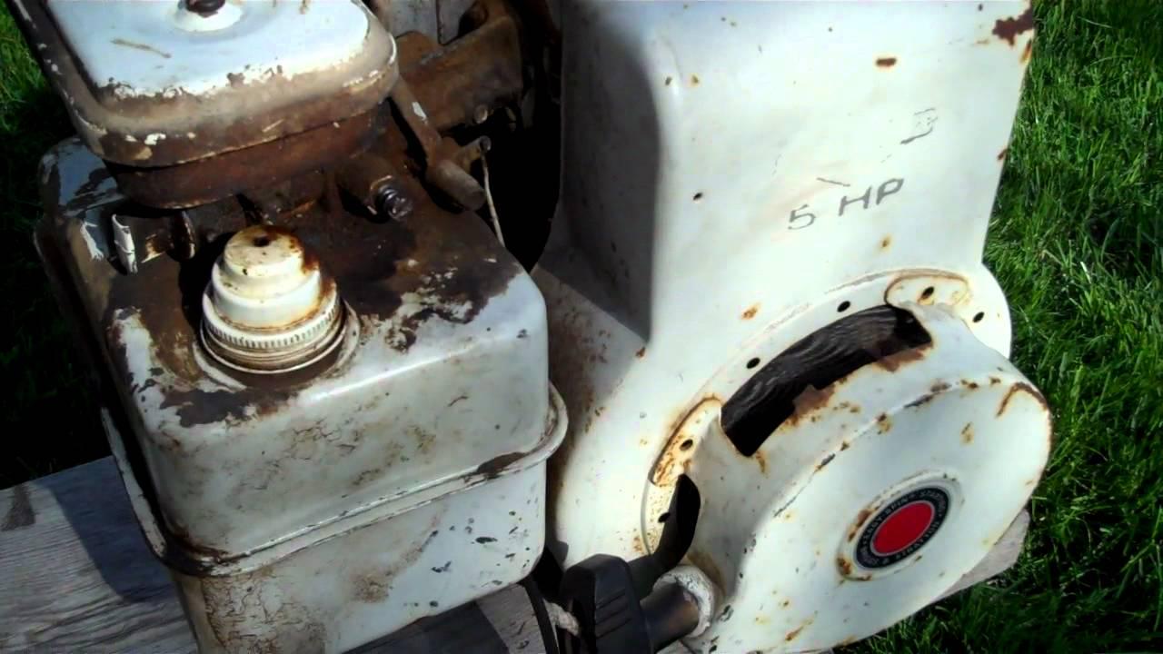Briggs And Stratton Engine >> 1979 5 HP Briggs & Stratton - YouTube