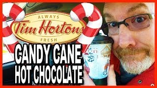 Thirsty Thursdays - Tim Horton's Candy Cane Hot Chocolate Beverage Review