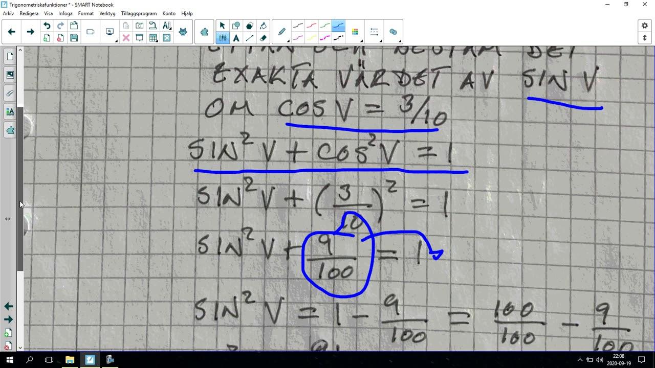124. Trigonometriska funktioner 10