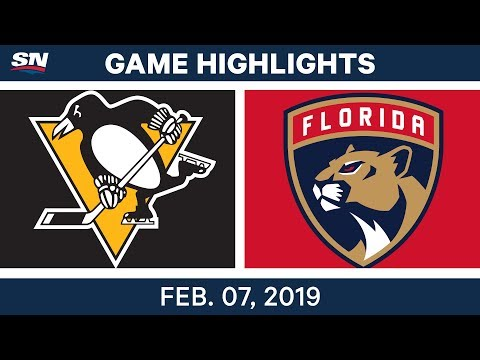 NHL Highlights | Penguins vs. Panthers - Feb. 7, 2019