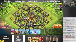 CHALLENGE, FARMEN & BESUCHE! || CLASH OF CLANS || Twitch Stream 10.03. Teil 2 [Deutsch/German HD]