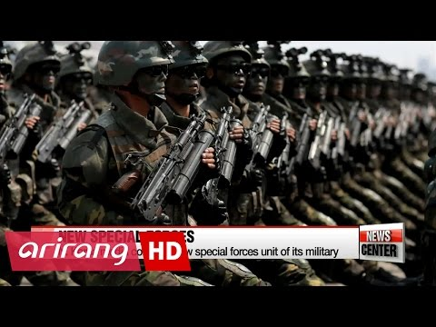 Thumbnail: N.Korea state media confirms new special forces unit unveiled during Saturday's parade