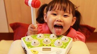 Moles Catch Game 라임이의 두더지 잡기 장난감 놀이 おもちゃ Игрушки 라임튜브