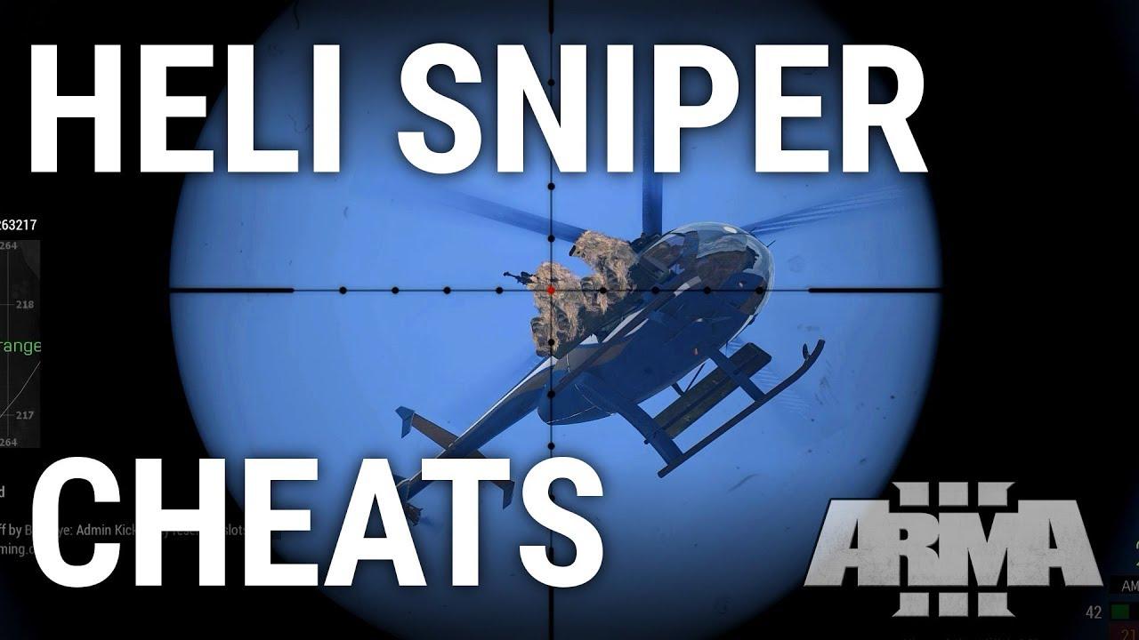 Heli Sniper Cheats - ARMA 3 King of the Hill