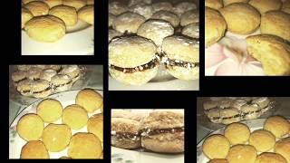 Posne vanilice sa marmeladom recept/Veganer vanilice mit Marmelade Rezept