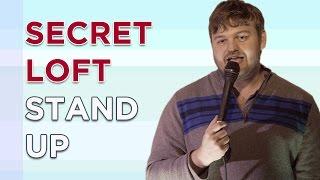 Stand up comedy by kevin seefried at secret loft in brooklyn, new york.https://twitter.com/kseefriedhttps://kevinseefried.wordpress.com/kevin is a w...