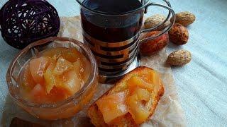 Вкусный грушевый конфитюр. Конфитюр из груш с лимоном, имбирем, розмарином. Pear jam with lemon.