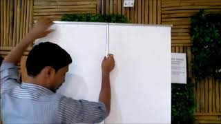 Rollup Banner Stand Set Up Video Pune