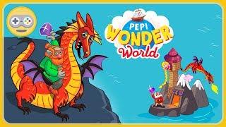 Pepi Wonder World от Pepi Play. Драконья гора - остров гномов в Мире Чудес Пепи. Обновление игры