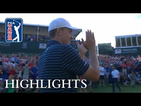 Jordan Spieth extended highlights | Round 4 | Travelers