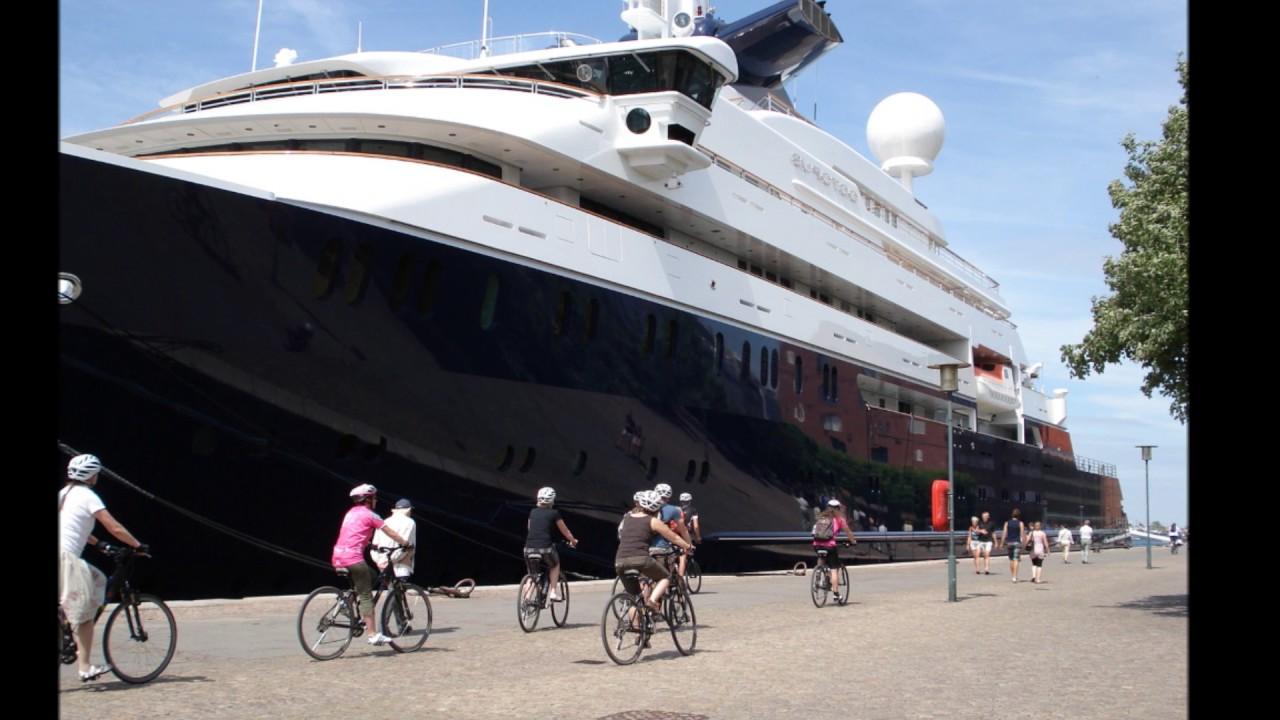 Mega Yacht Octopus In Scandinavia