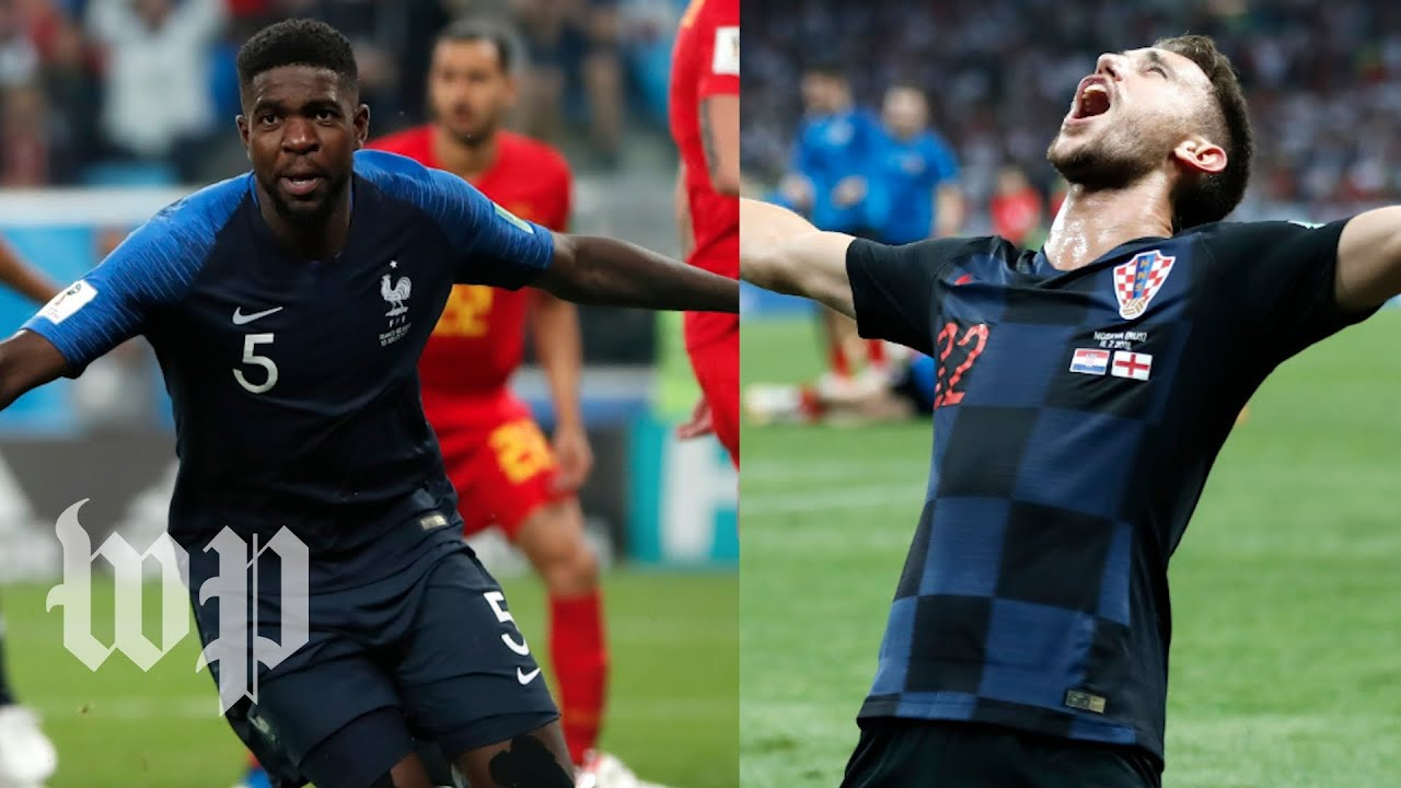 3794a1111 France vs. Croatia  Your guide to the 2018 World Cup final - YouTube