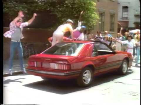 1982 ford mustang tv ad commercial 1 of 4 fame spoof. Black Bedroom Furniture Sets. Home Design Ideas