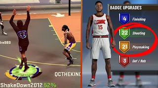 LETHAL Play Sharp Build Video - 50 BADGES! 98 Overall Breakdown