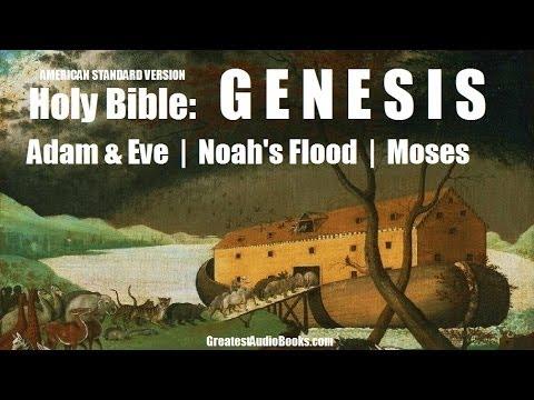 GENESIS - HOLY BIBLE - Story of NOAH, ADAM & EVE, MOSES - FULL AudioBook | ASV