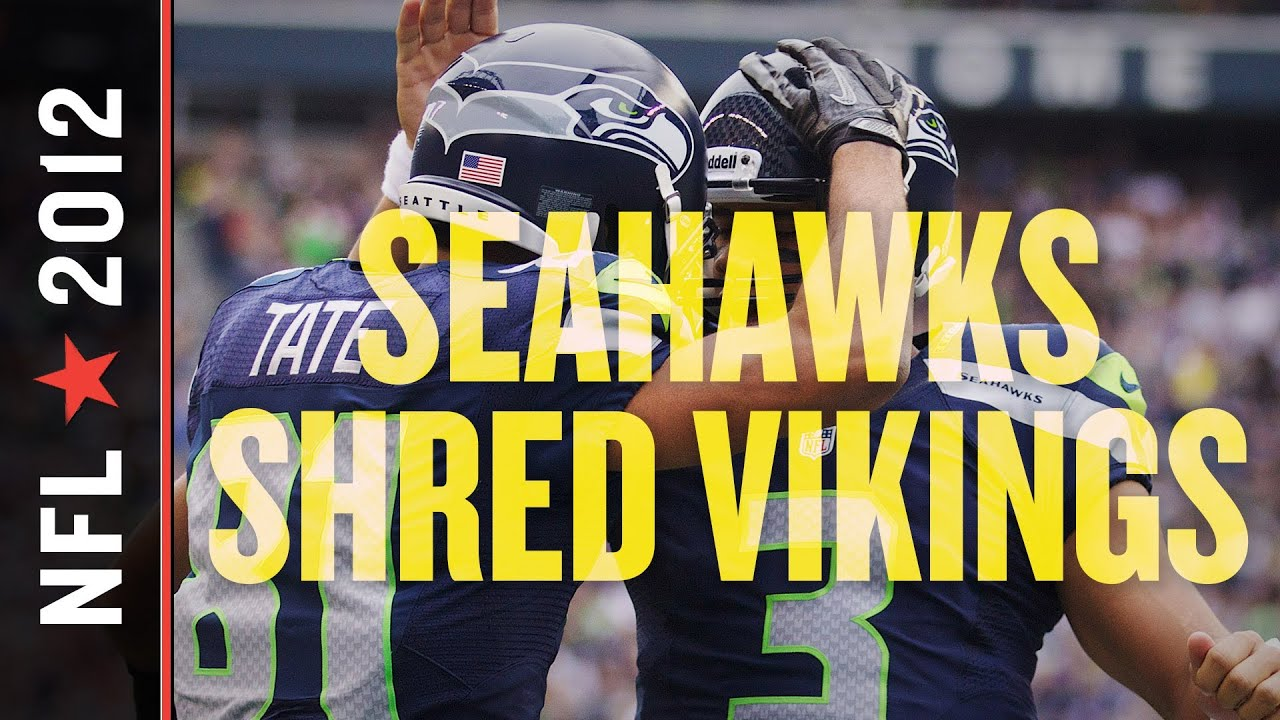 Seattle Seahawks Field Gulls >> Seahawks vs Vikings 2012: Seattle 5-4 Thanks to Solid Defense, Big Games from Wilson and Lynch ...