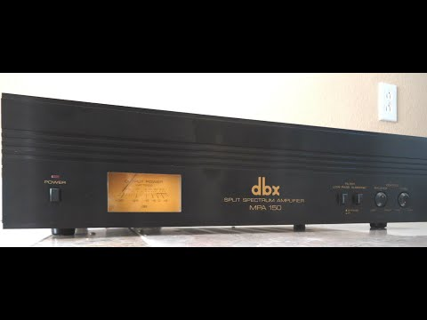 Dbx MPA150 Split Spectrum Amplifier