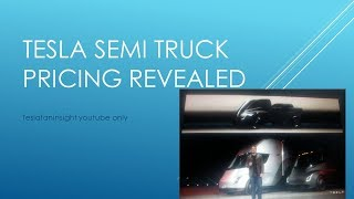 Tesla semi truck prices 150k for 300 mile and 180k for 500 mile truck. founders 200k
