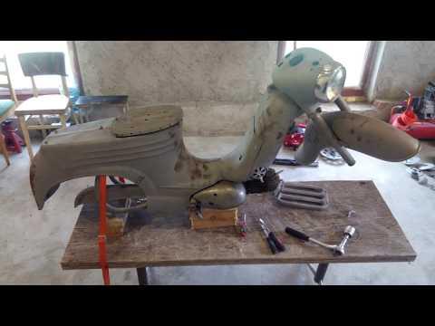 Renovace Jawa 555 1959