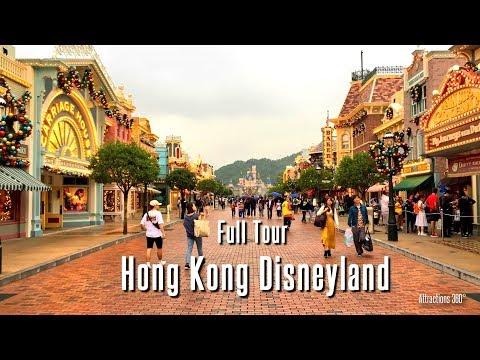 [HD] Hong Kong Disneyland Tour - FULL Walking Tour of Hong Kong Disneyland