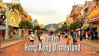 [HD] Hong Kong Disneyland Tour - FULL Walking Tour of Hong Kong Disneyland