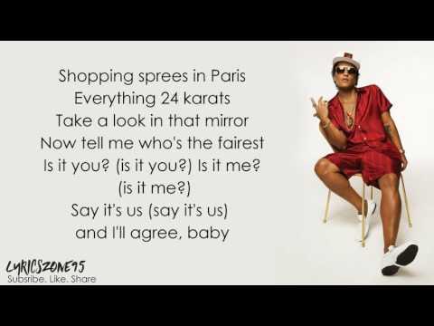 Bruno Mars   That's What I Like Lyrics