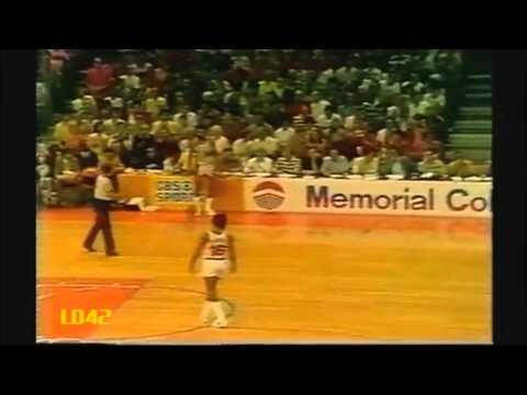Bill Walton 1977 Finals: 20pts & 23rebs, Gm 6 vs. 76ers