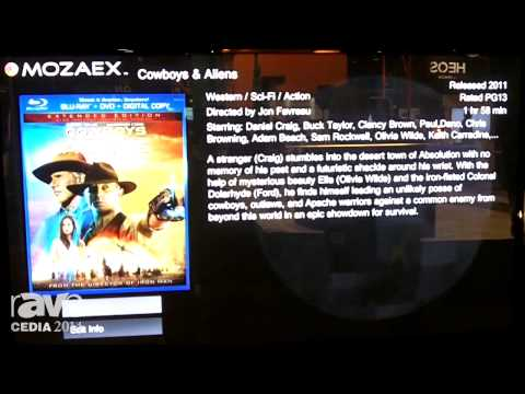 CEDIA 2014: Mozaex Showcases Its Media Server for Organizing Movies, TV Shows, Blu-ray, Music, Etc.