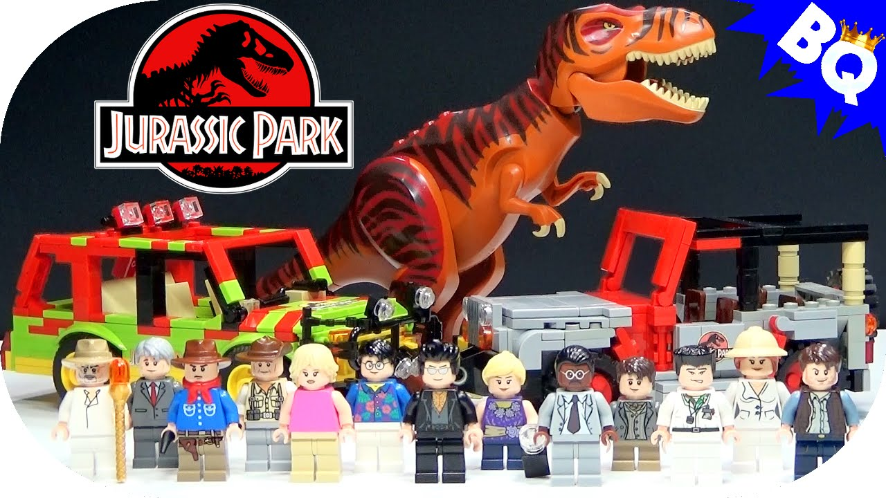 The gallery for ray arnold jurassic park - Jurasic park lego ...