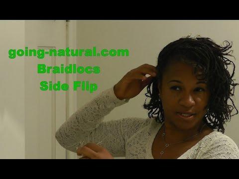 Braidloc Side Flip