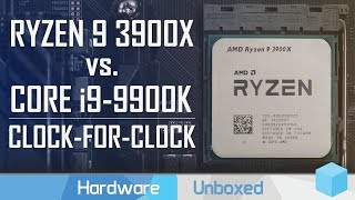 3rd Gen Ryzen IPC Test, 3900X & 3700X vs. Core i9-9900K