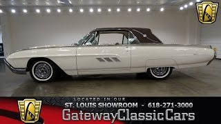 1963 Ford Thunderbird Stock #6981 Gateway Classic Cars St. Louis Showroom