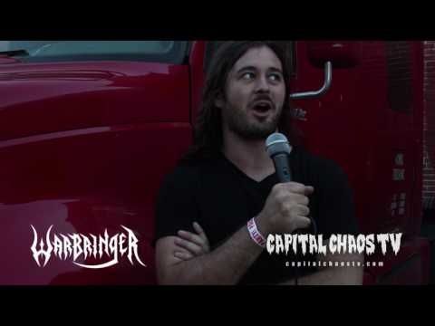 Frontman John Kevill of Warbringer Interviewed In Oakland, California
