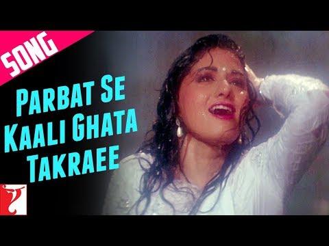 Parbat Se Kaali Ghata Takraee Song | Chandni | Rishi Kapoor | Sridevi