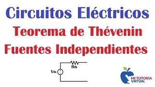 Teorema de Thevenin - Circuitos Electricos - Ejercicio Aplicacion