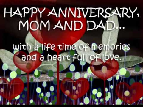 31st Wedding Anniversary Of Our Mom Dad