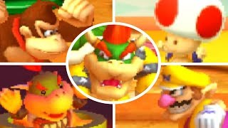 Mario Party The Top 100 - All Bosses