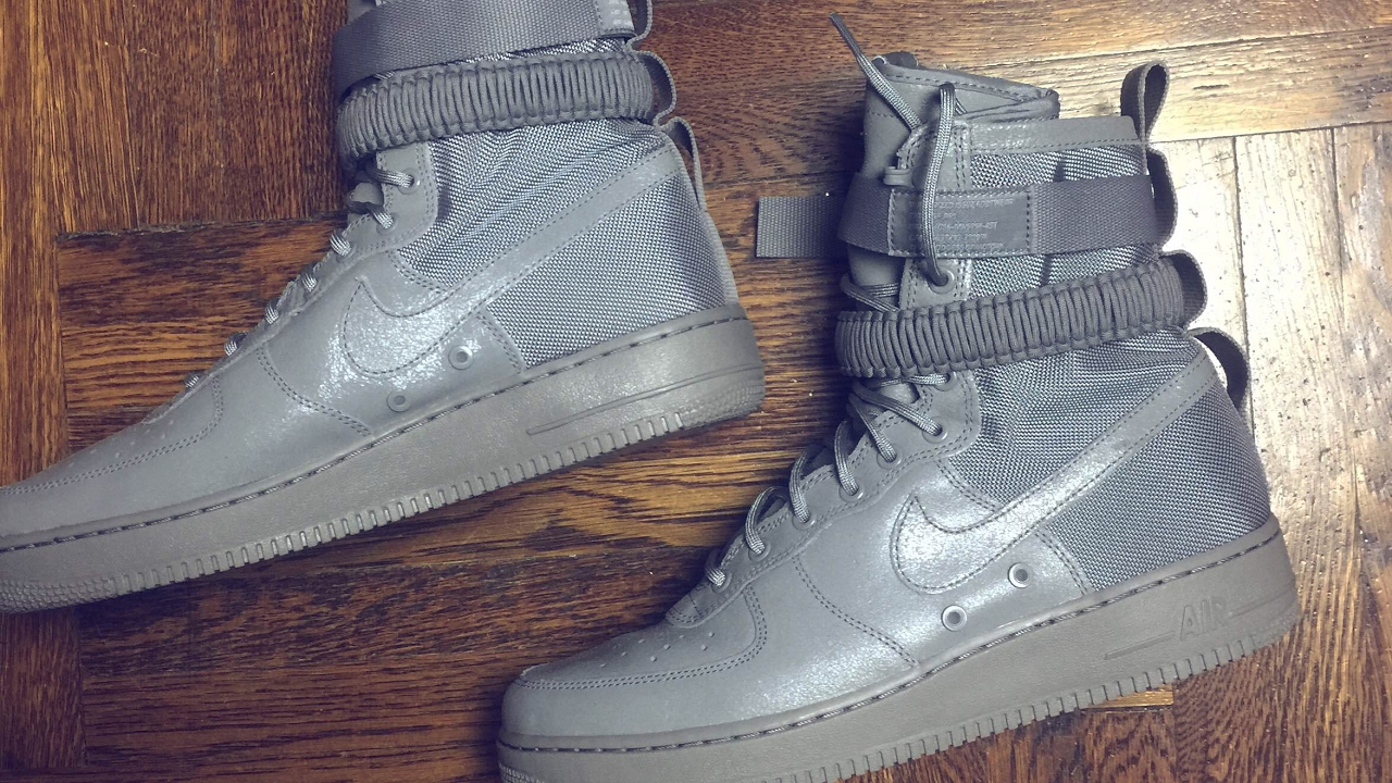 buy popular 1b547 acbde Nike Special Field Air Force 1 SFAF1 Dust Review  On Feet