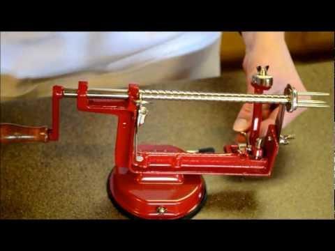 back to basics apple peeler instruction manual