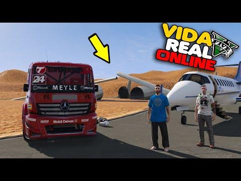GTA V : VIDA REAL - CHEGUEI EM DUBAI !!  #326