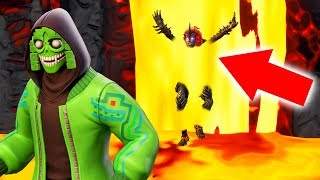 He Is HIDING INSIDE LAVA In Fortnite Hide & Seek